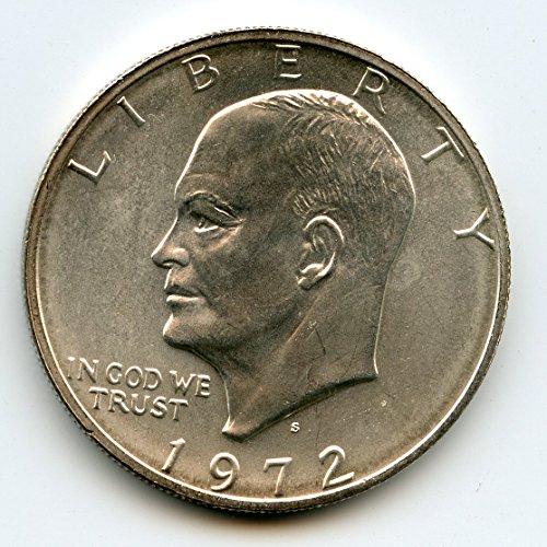 1972 S Eisenhower Dollar MS-67