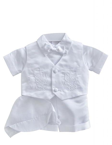 Amazon.com: Classykidzshop - Disfraz de bautizo para niño ...