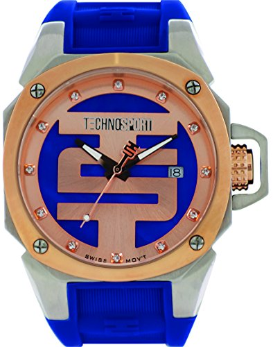 technosport-ts-102-4-unisex-watch-swiss-movement-royal-blue-and-rose-gold-dial-royal-blue-silicone-b