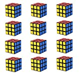 Lebbeen Mini Cubes Party Favors Cube Puzzle (12 Pack)