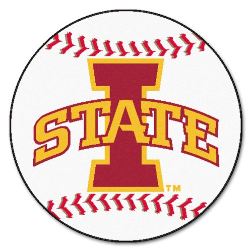 Iowa State Baseball Rug