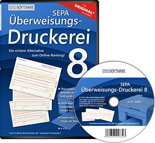 SEPA Überweisungs Druckerei