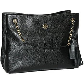 cc66d7edc5f Amazon.com  Tory Burch Handbag Bag Whipstitch Logo Leather Tote ...