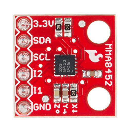SparkFun Triple Axis Accelerometer Breakout - MMA8452Q (with Headers) by Electronics123.com, Inc. (Image #1)