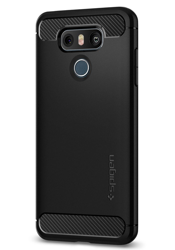 Carbon Fiber Design Spigen Rugged Armor Case