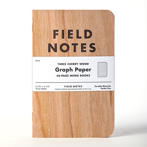 - Field Notes Cherry Graph 3-Pack