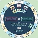 Der AMA-Quintenzirkel für Tasteninstrumente: Dt. /Engl.