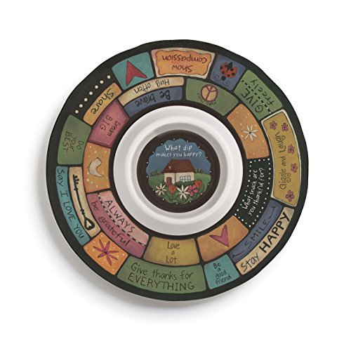 Table Talk Family Values Melamine Chip & Dip Bowl 13''D by Table Talk