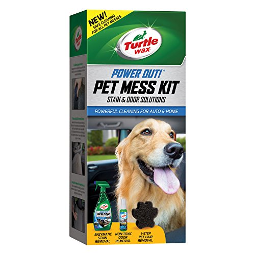 Turtle Wax 50692 Power Out Pet Mess Kit