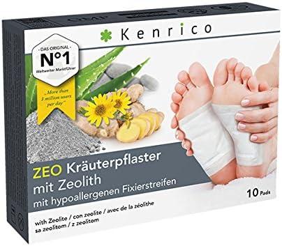 Original KENRICO® ZEO Kräuterpflaster mit Zeolith