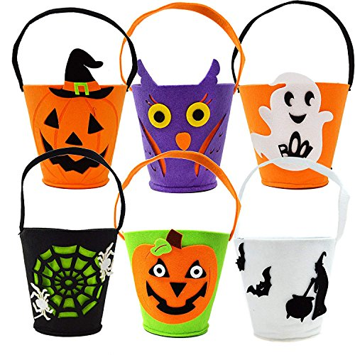 Halloween Candy Bags Trick or Treat Spooky Ghost