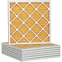 14x14x1 Merv 11 Pleated AC Furnace Air Filter 6 Pack, USA Made Product