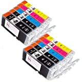Sophia Global Compatible Ink Cartridge Replacement for Canon PGI-250XL CLI-251XL (10 Pack)