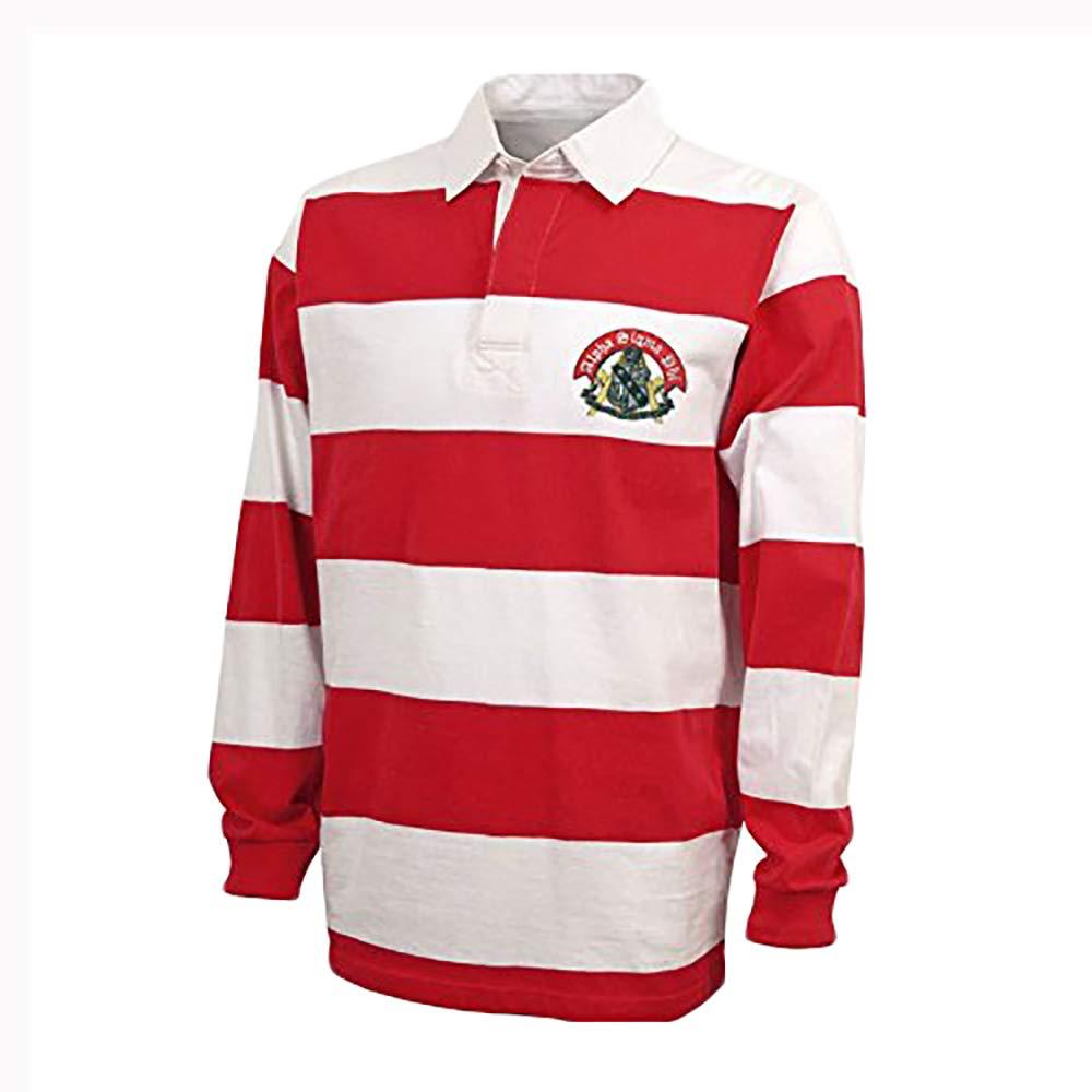 Amazon Alpha Sigma Phi Rugby Shirt Clothing