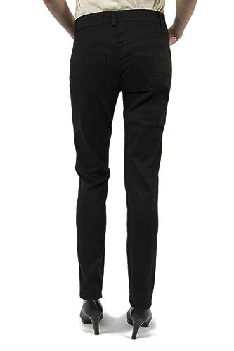 72p2gg7 40 Donna Pantalone Abbigliamento it Nero Desigual Amazon qxa6S6