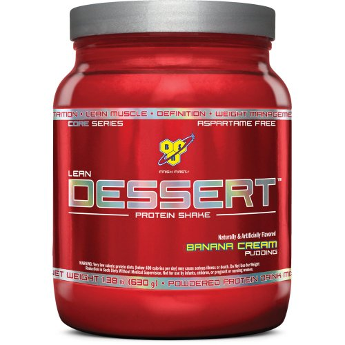 BSN Lean Dessert Protein, Banana Cream Pudding, 1.38 Pound