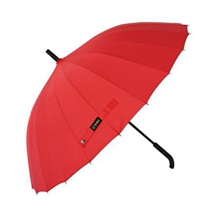Paraguas Hitachi Toalla 24 hueso Mango Largo paraguas grandes amplificación recta paraguas, ...