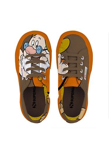 Le Superga - Cartoon 2750-disney Dotto Cobj - Bambini Dotto Brown
