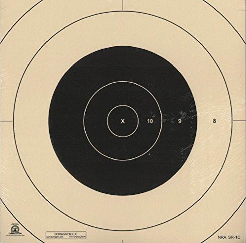 DOMAGRON 100 Yard Reduction of 200 Yard Military Target Center - SR1 - Center Repair (SR1C) (100 Pack)