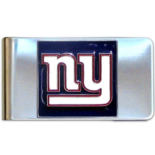 - NFL New York Giants Steel Money Clip