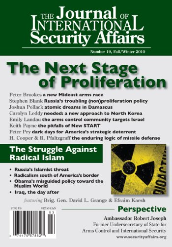 The Journal of International Security Affairs, Fall/Winter 2010