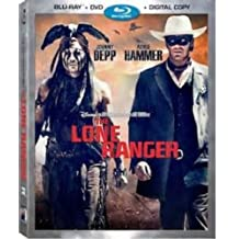 THE LONE RANGER Blu-ray+DVD+Digital Copy Movie COMBO PACK Set