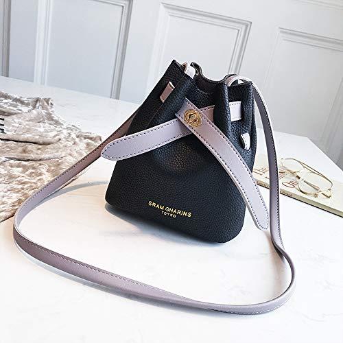 bandoulière à main sacs vintage à à Junmaono de sac Sac sac bandoulière Woman Sac sacs élégants à sacs sac sac cuir sac chaîne plage Noir seau dos twwOHEq