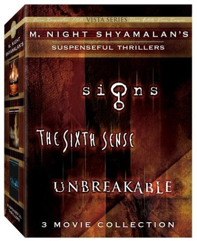 M. Night Shyamalan Vista Series Collection (The Sixth Sense/Signs/Unbreakable) by Buena Vista Home Entertainment by