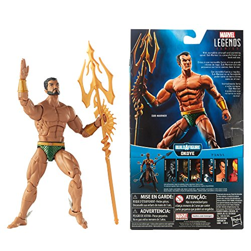 Free Comic Book Day Dubai: Marvel Black Panther Legends Series Sub-Mariner, 6-inch