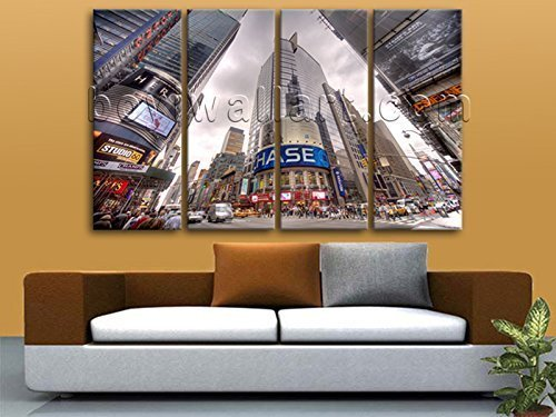 extra-large-new-york-nasdaq-square-wall-art-hd-print-canvas-home-decor-stretched-oversized-new-york-