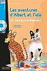 Albert et Folio : Un heureux évènement + CD audio par Eberlé