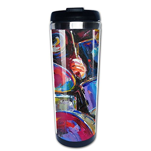 Coffee Mug Drum Kit Traveling Stainless Steel Vacuum Cups Thermos Water Tea Homeusage Commuter Bottle (Drum Download Kits)