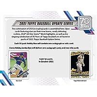 $115 » 2021 Topps Update Baseball Hobby Box(24 Packs/14 Cards,1 Silver Pk, Auto or Mem)