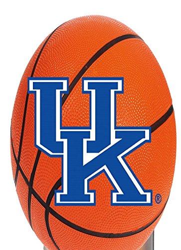 Kentucky Wildcats UK Night Light Art Glass Sports Ball (Wildcats Light Night Glass)