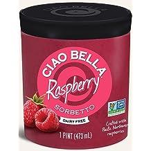 Ciao Bella Raspberry Sorbetto, Pint (8 Count)