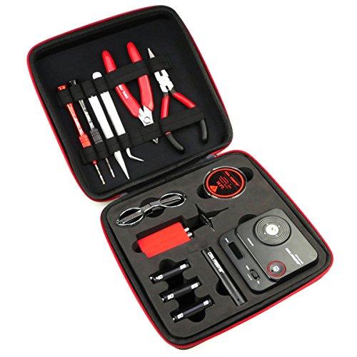 Riccardo DIY Kit V3 komplettes Werkzeug und Zubehör (zum Selbstwickeln für e-Zigarette, mit 521 Tab Mini V2, 0.0 mg…
