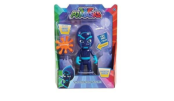 PJMasks Deluxe - Figura para Hablar (15 cm), diseño de Noche Ninja Wave 3: Amazon.es: Juguetes y juegos