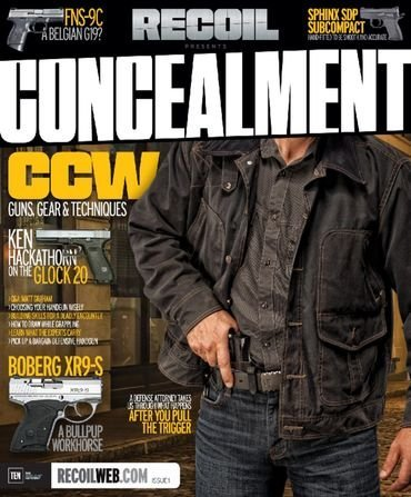 (Recoil Concealment Issue 1)