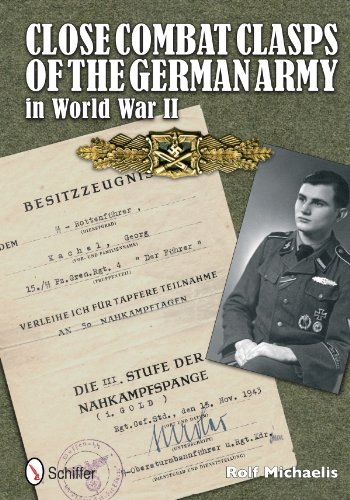 Close Combat Clasps of the German Army in World War II