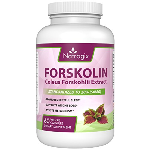 Natrogix Forskolin Forskohlii Supplement Capsules product image