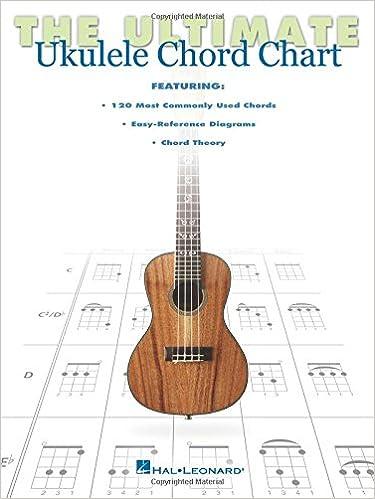 Amazon The Ultimate Ukulele Chord Chart 9781476813615 Hal