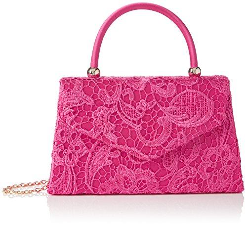 SwankySwans Kendall Lace Smart Elegant, Sacchetto Donna Rosa (Pink (Fuschia))
