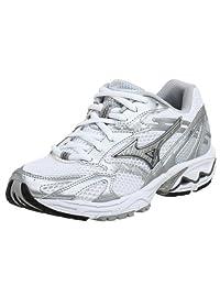 Mizuno Women's Wave Nexus 2 Running Shoe,White/Silver,7 M