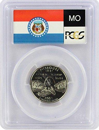Silver Missouri Quarter - 2003 Missouri State S Silver Proof Quarter PR-69 PCGS