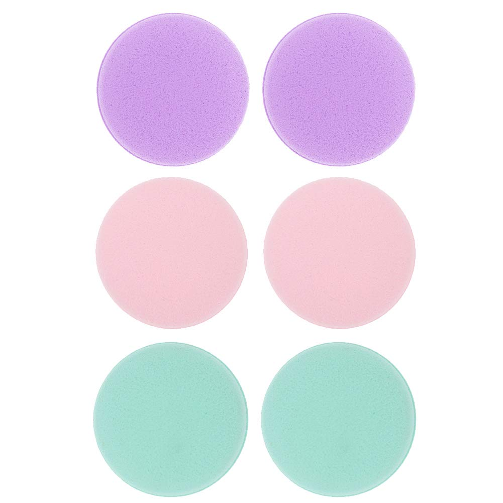 Korlin Macaron Makeup Blender Sponges Set, You Can Use Damp or Dry for a Smooth, 6-Pack