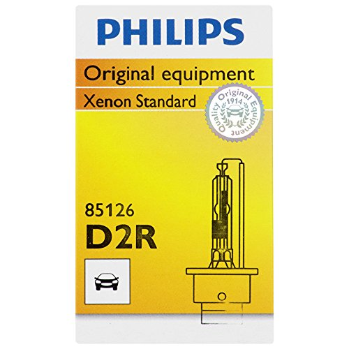 Philips D2R Standard Xenon HID Headlight Bulb, 1 Pack (Headlight Altima Hid Nissan)