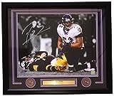 #1: Ray Lewis Signed & Framed 16x20 Ravens Roethlisberger Sack Spotlight Photo JSA