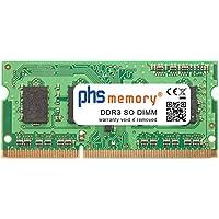 PHS-memory 2GB RAM Speicher für Toshiba NB510-108 DDR3 SO DIMM 1333MHz PC3-10600S
