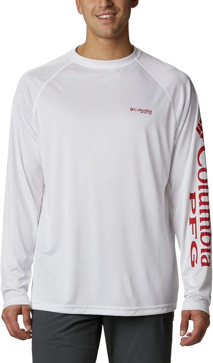 Columbia Mens PFG Terminal Tackle Long Sleeve Shirt: Clothing