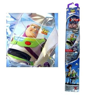 Disney Toy Story Buzz Lightyear Childrens SkyDiamond Kite (23 Inch): Toys & Games